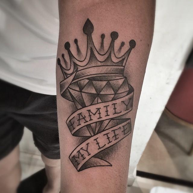 Conhecido 75 Tatuagens de Coroas Lindas e Inspiradoras CC33