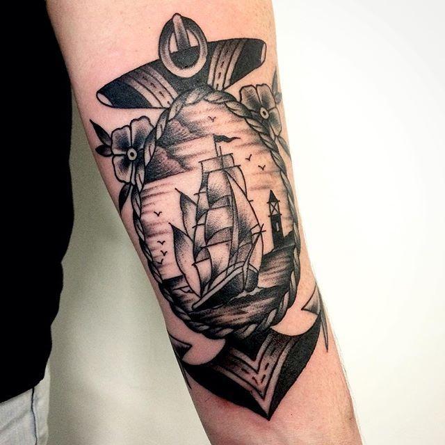 65 Tatuagens De âncora Belíssimas E Inspiradoras Fotos