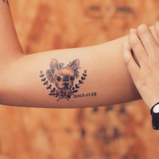 70 Tatuagens De Cachorros Lindas E Inspiradoras