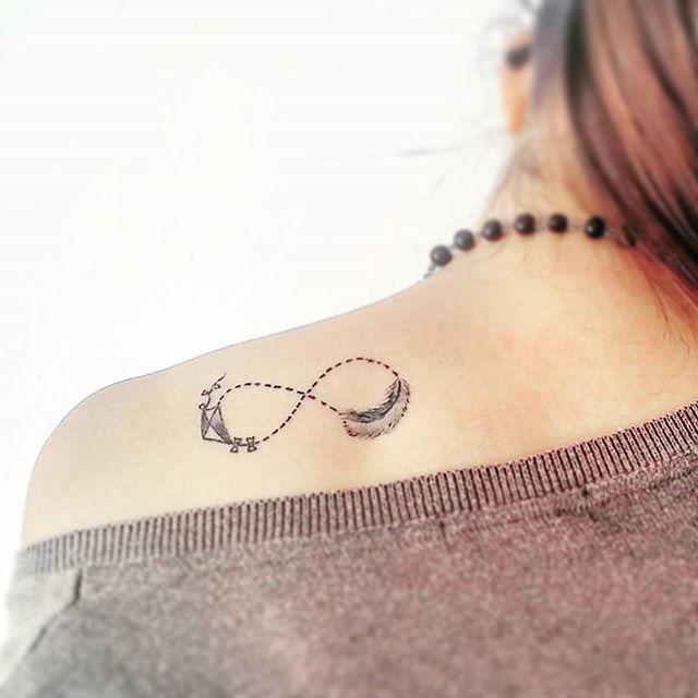 60 Tatuagens De Infinito Criativas As Melhores Fotos