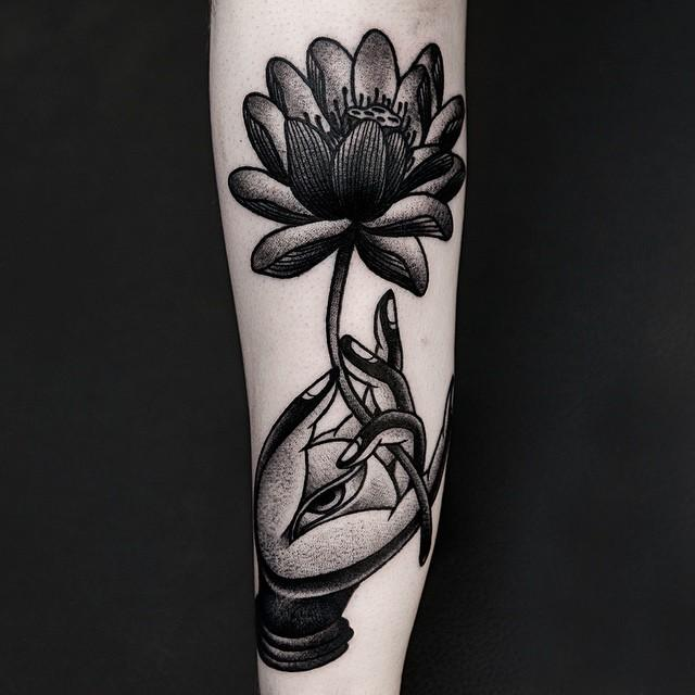 65 Tatuagens De Flor De Lotus As Melhores Fotos