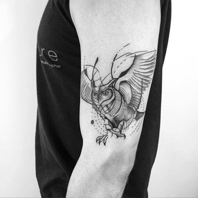70 Tatuagens De Coruja Impressionantes Fotos Lindas