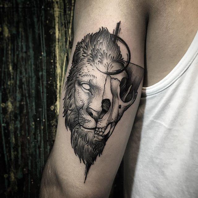 tatuagem de leão o que representa?