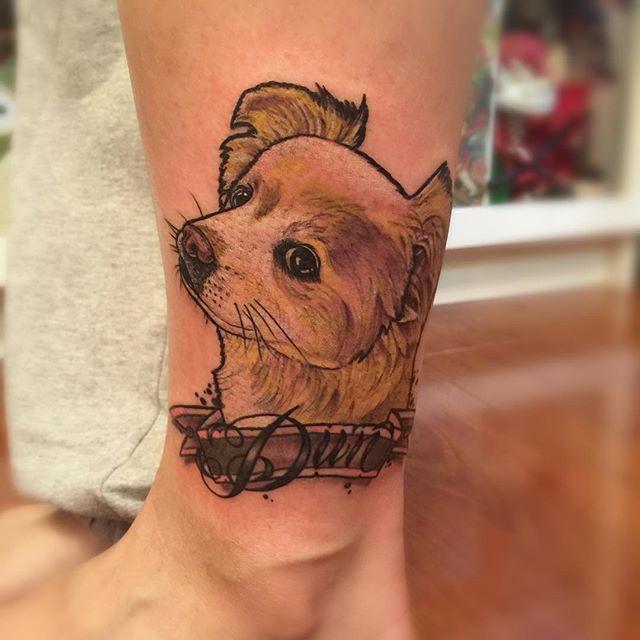 Uma linda homenagem a seus cãozinho