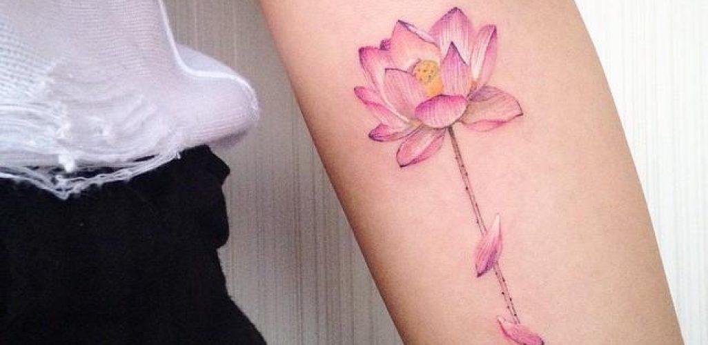 65 Tatuagens De Flor De Lótus As Melhores Fotos