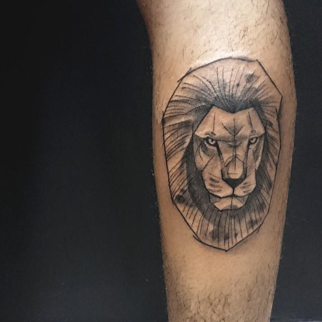65 Tatuagens De Le&227o Impressionantes  Fotos Incr&237veis