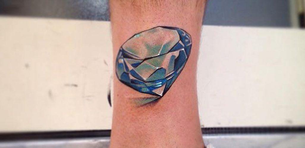 65 Tatuagens De Diamante Belíssimas E Inspiradoras