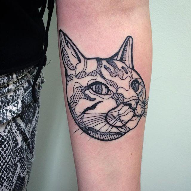 80 tatuagens de gatos lindas e inspiradoras for Tatoo gatos