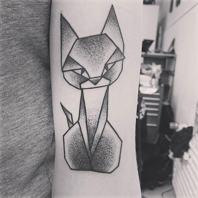 80 tatuagens de gatos lindas e inspiradoras
