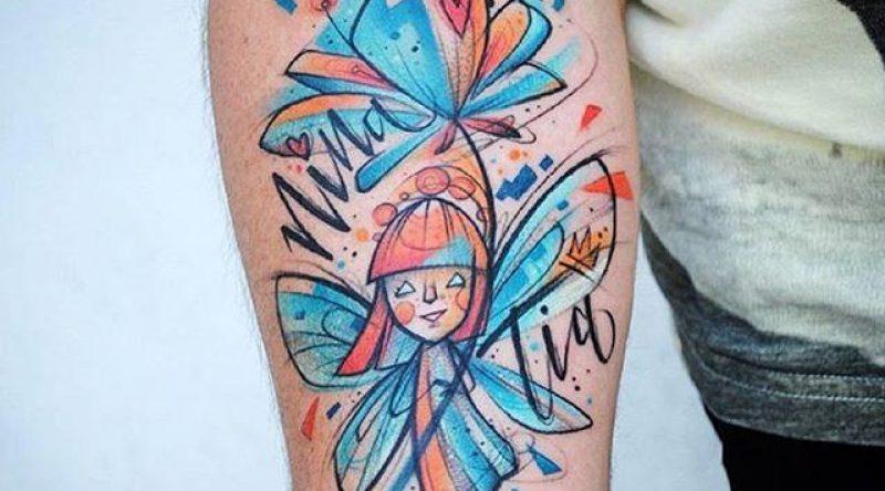 55 tatuagens de fadas que representam o universo da fantasia