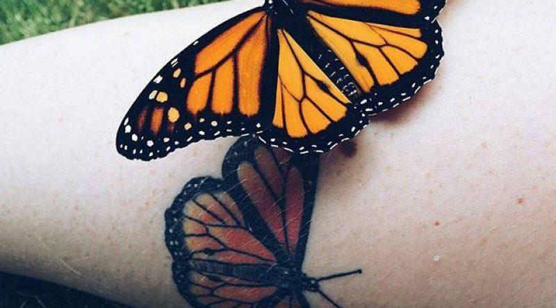 80 tatuagens de borboletas com fotos graciosas para você se inspirar