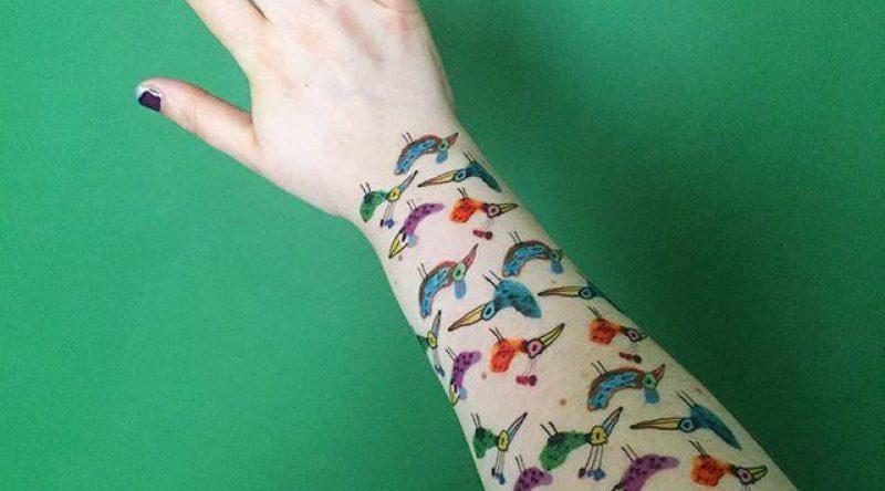 65 tatuagens de pássaros que são capazes de agradar a todos