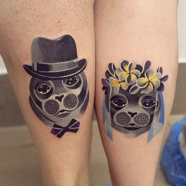 Dê um toque cômico à sua tatuagem<