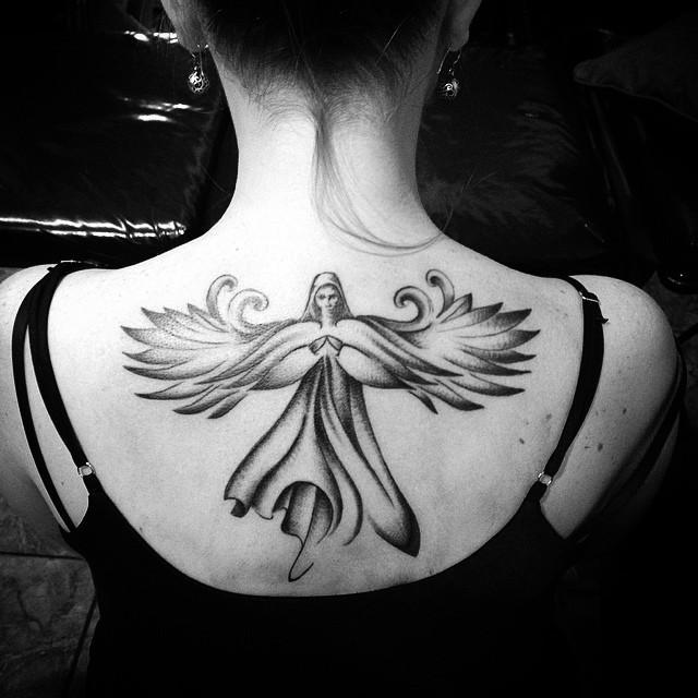60 Tatuagens De Anjo Inspiradoras