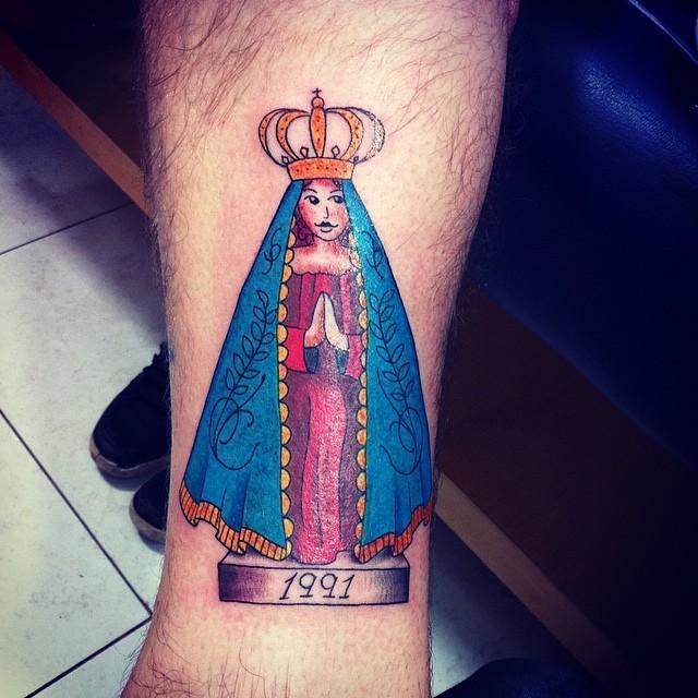 Impossível não admirar essa tatuagem