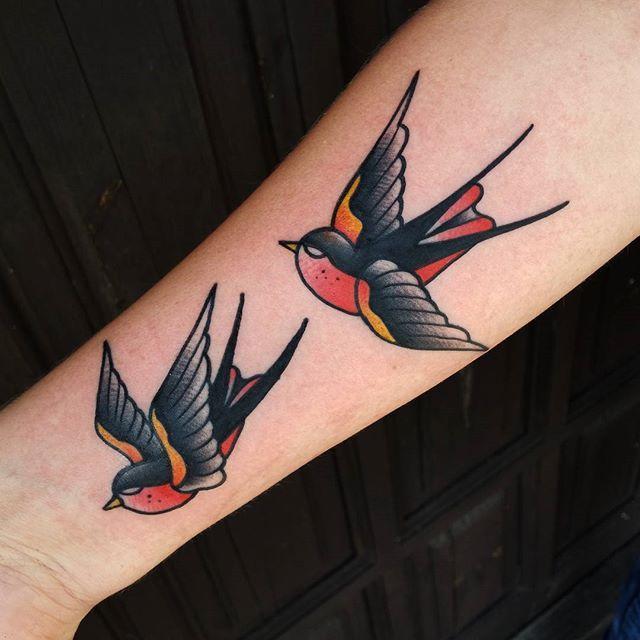 60 Tatuagens De Andorinha Criativas As Mais Lindas