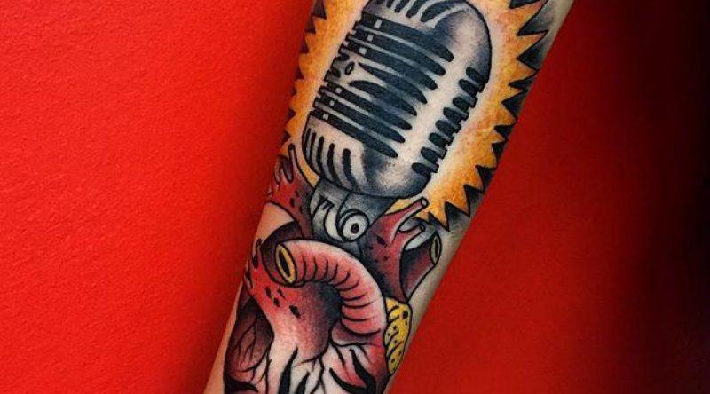 60 tatuagens de música para quem não vive sem uma melodia