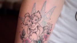 50 Tatuagens da Fada Sininho