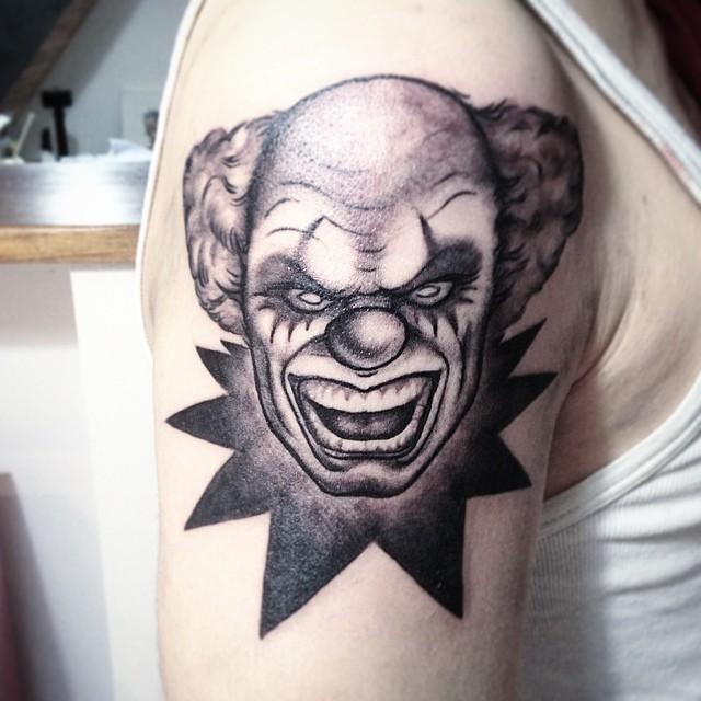 65 Tatuagens De Palhacos Impressionantes