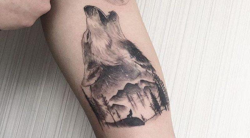 70 Tatuagens de lobo que impressionam qualquer um