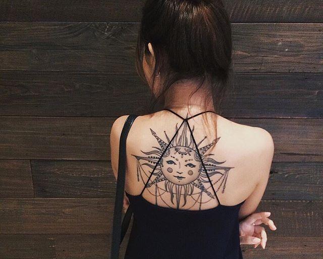 60 Tatuagens de sol