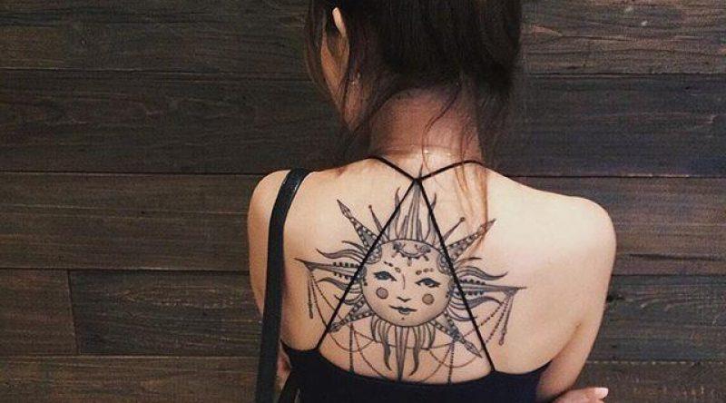 60 tatuagens de sol para simbolizar o nosso sistema solar