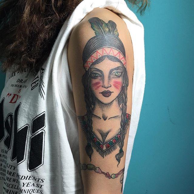 70 Tatuagens De Indias Com Fotos As Mais Lindas