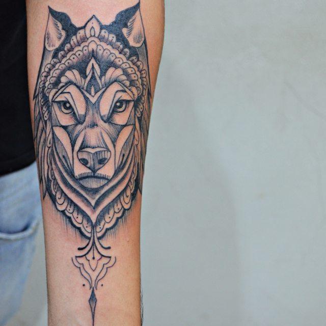 fc52b8c2c 70 Tatuagens de Lobo Impressionantes (melhores fotos!)