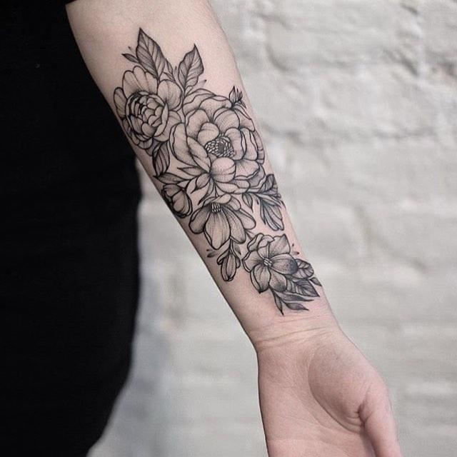 70 tatuagens de flores criativas s as mais lindas for Tattoo de flores