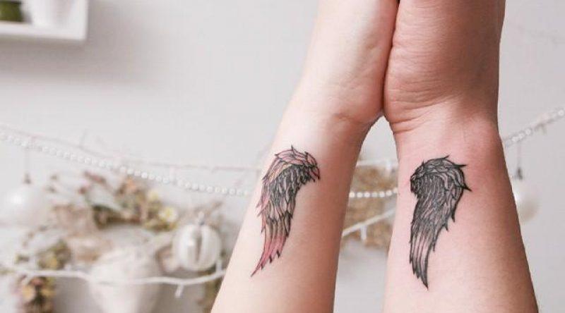 60 tatuagens de asas que representam a liberdade de voar