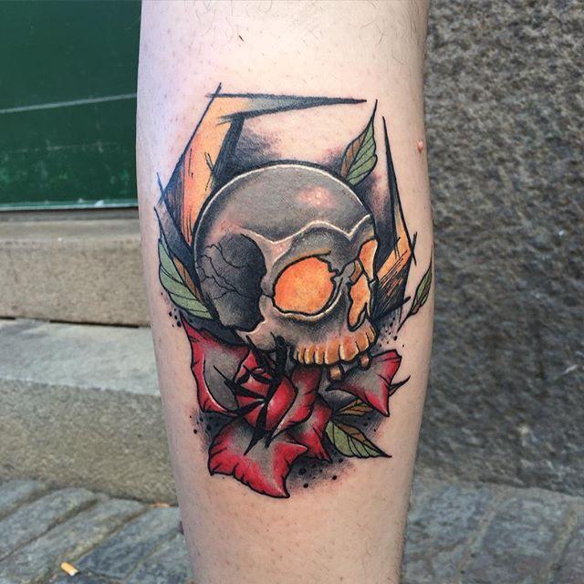 70 Tatuagens De Caveira Impressionantes So As Melhores
