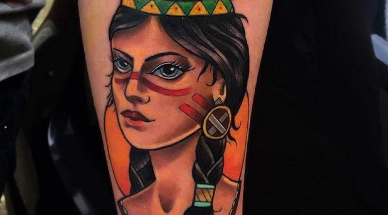70 tatuagens de índias com fotos lindas para você admirar