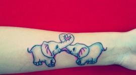 65 Tatuagens de elefante