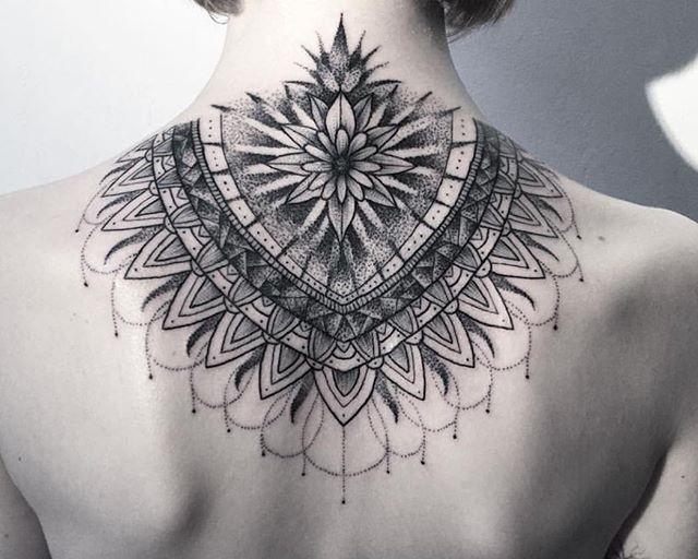 70 Tatuagens de mandala: as melhores fotos!