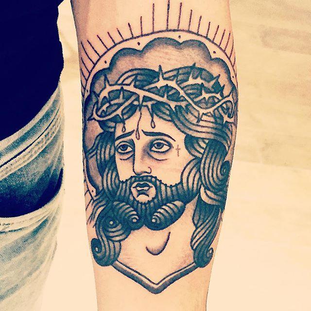 Conhecido 70 Tatuagens de Jesus Cristo Impressionantes! GV88