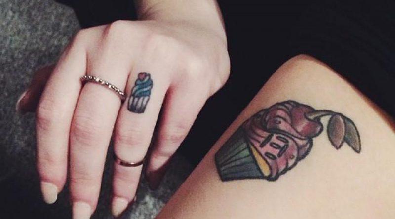 65 tatuagens de cupcakes para quem é apaixonado pela confeitaria