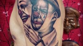 65 Tatuagens de palhaço
