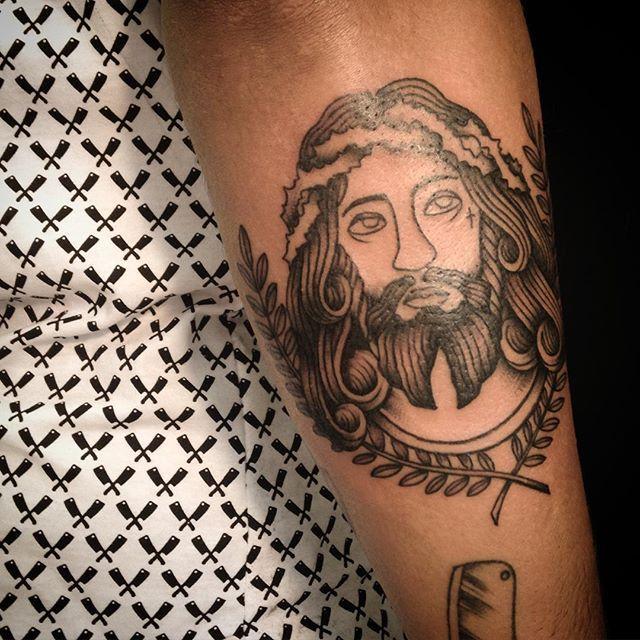 Fabuloso 70 Tatuagens de Jesus Cristo Impressionantes! LY07