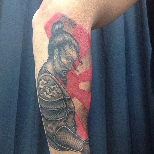 60 Tatuagens De Samurai Impressionantes