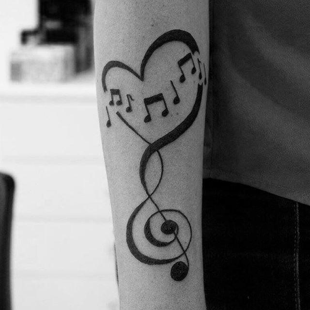 60 Tatuagens De Musica Criativas As Melhores Fotos