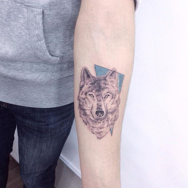 70 Tatuagens De Lobo Impressionantes Melhores Fotos