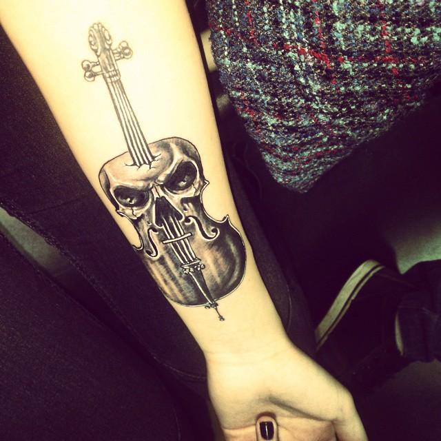 60 tatuagens de msica criativas as melhores fotos 42 altavistaventures Choice Image