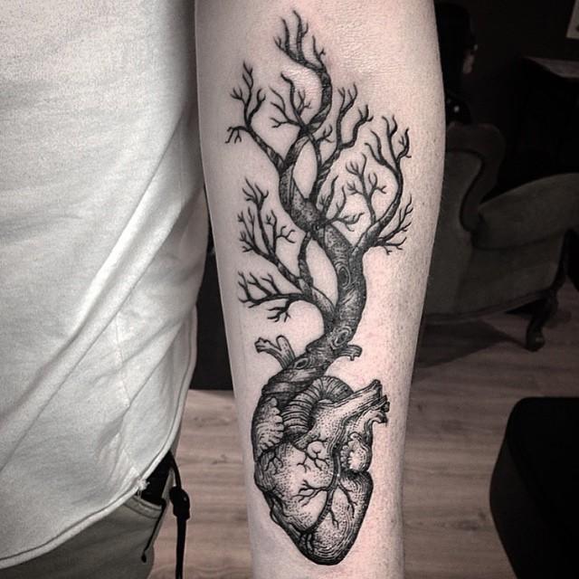 Favoritos 65 Tatuagens de Árvores Impressionantes e Inspiradoras TS14