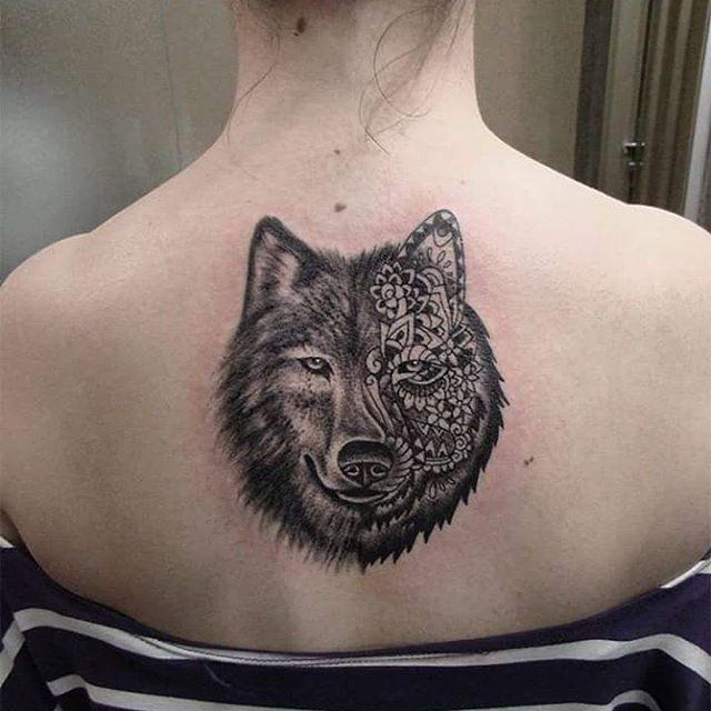 Favoritos 70 Tatuagens de Lobo Impressionantes (melhores fotos!) KT18