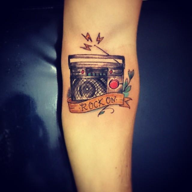 60 tatuagens de msica criativas as melhores fotos 52 altavistaventures Choice Image