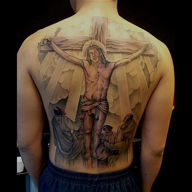 70 Tatuagens De Jesus Cristo Impressionantes