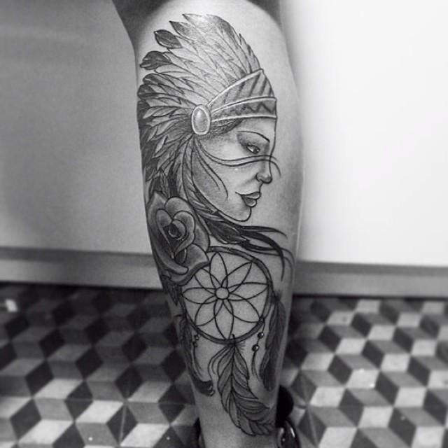 70 Tatuagens De índias Com Fotos As Mais Lindas