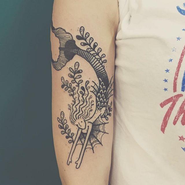 65 Tatuagens De Sereias Lindas As Melhores Fotos