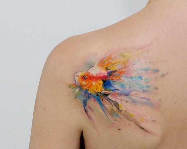 70 Tatuagens de peixes