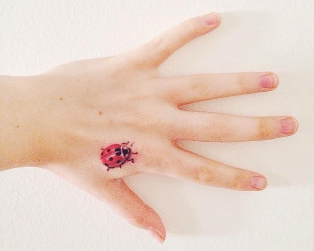 50 Tatuagens de Joaninhas